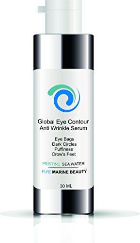 Augenkonturen Hyaluronsäure, Argireline und Vitamin C Anti-Falten Serum ● Augenserum unisex 30 ml airless