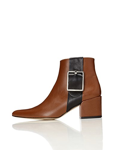 FIND Women's Ankle Boots with Zi...