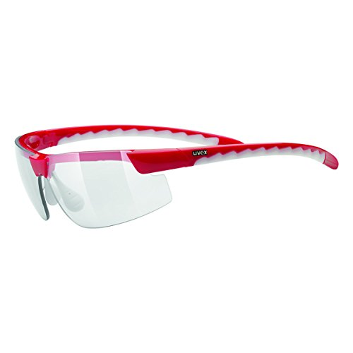Uvex Sportbrille Active Small Vario, red white, S5304813301