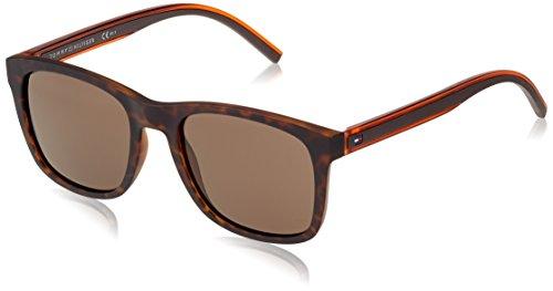Tommy Hilfiger Herren Sonnenbrille TH 1493/S IR 9N4 53, Braun (Havanbrown/Grey Blu) Preisvergleich