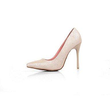 Moda Donna Sandali Sexy donna tacchi Primavera / Estate / Autunno / Inverno tacchi PU Outdoor Stiletto Heel altri nero / rosa / Altri Pink