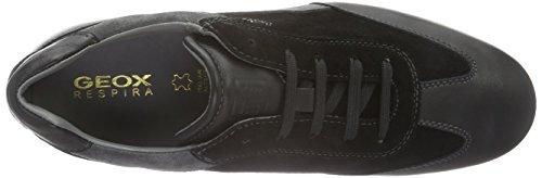Geox U Efrem A,  Chaussures richelieu à lacets Schwarz (BLACK/ANTHRACITEC9270)