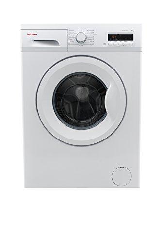 Sharp ES-FB7143WA3-DE Waschmaschine/NA/A+++/1400UpM/kg/liter/jahr/Schnellwaschgang 15 min/weiß