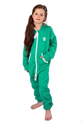 Gennadi Hoppe Kinder Jumpsuit Overall Jogger Trainingsanzug Mädchen -