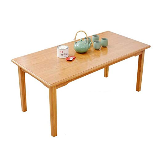 HRFHLHY Petite Table Pliante Table Carrée Table Basse Tatami Table Au Sol Table Basse Baie Vitrée Table Lit Bureau,100 * 60 * 32Cm