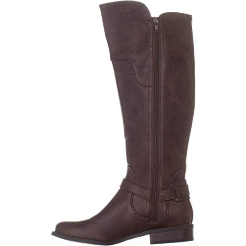 Guess Frauen Geschlossener Zeh Fashion Stiefel Braun Groesse 8.5 US /39.5 EU -