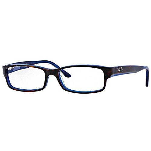 Ray-Ban RX5114 5064 52-16 Rayban RX5114 5064 52-16 Rechteckig Sonnenbrille 52, Blau