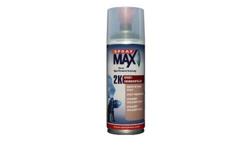 Spray Max 2 K Epoxy Primer Filler - 400ml (Black)
