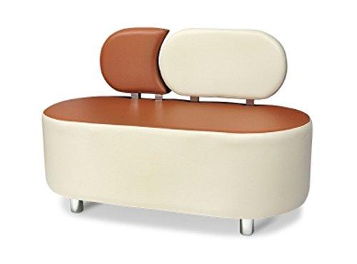 2-Sitzer Sofa 120x60x80h 2 Farben Sofa