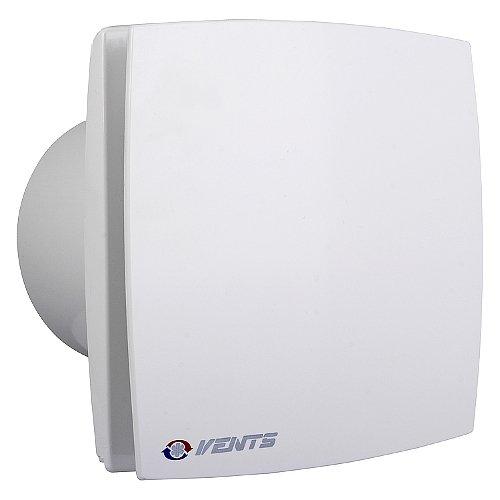 Bad-Lüfter Ventilator Wandlüfter 100 125 150 VENTS LD-TH /LDA-TH Nachlauf (Timer) Feuchtesensor (Weiss, Ø 125) -