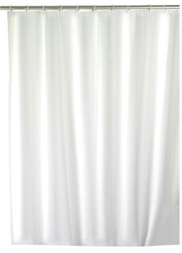 Wenko 19145100 Rideau de Douche Blanc Textile Dimensions 120 x 200