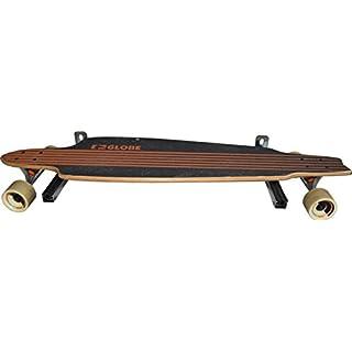 FigoFix Longboard-, Ski-, Snowboardhalter-Set, Befestigung, Wand, Premium