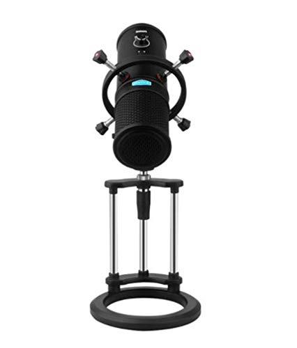 atormikrofonset, tragbares Home Recording Handy Computer Webcast Karaoke Profi Mikrofon, geeignet für Podcasts, Broadcast Konferenz, mit Ständer ()