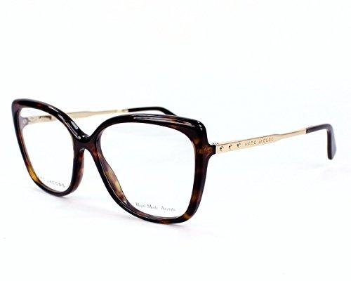 d27b9325afe Marc Jacobs Montures de lunettes Pour Femme 615 - ANT  Tortoise   Gold