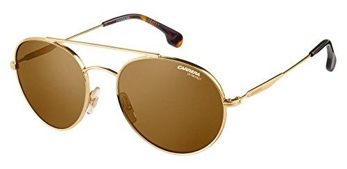 Carrera Unisex-Erwachsene 131/S 70 06J Sonnenbrille, Gold Havana/Brown, 56