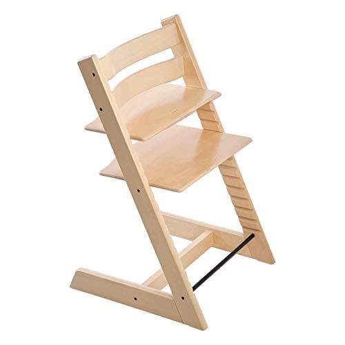 Tripp Trapp - Mitwachsender Baby- und Kinderhochstuhl - Rückt das Baby an den Esstisch und in das Zentrum der Familie - Holzart: Buchenholz - Farbe: Natural