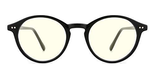TIJN Blaue Licht Blockieren Brille Blaulichtfilter Brille Blueblocker Brille Anti-Blaulicht ohne sehstärke Computer Brillen (Können Brille Fernsehen Sie - Auf)