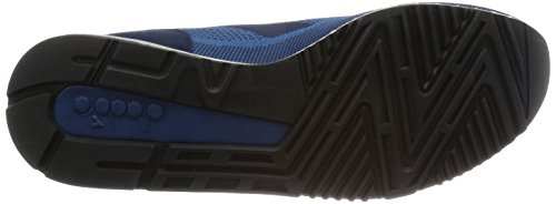 Diadora V7000 Weave, Pompes à plateforme plate mixte adulte Bleu - Blu (60024 Blu Estate)