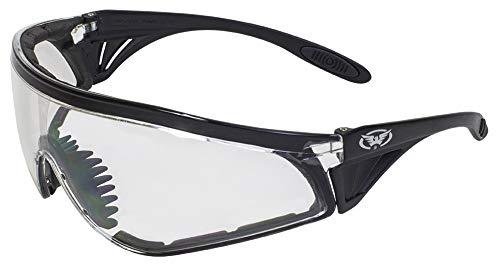 Global Vision Eyewear Python Sicherheit Gläser, Clear Lens