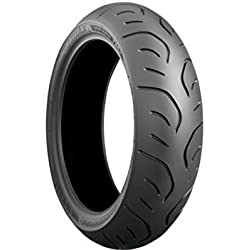 Bridgestone Battlax Sport Touring T30 Tire - Rear - 160/ 60ZR-17 , Position: Rear, Rim Size: 17, Tire Application: Touring, Tire Size: 160/60-17, Tire Type: Street, Load Rating: 69, Speed Rating: (W), Tire Construction: Radial 000887