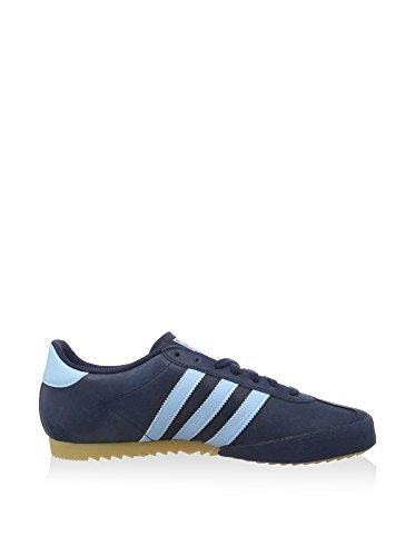 adidas Herren Bamba Sneaker, Blau/Marineblau Marineblau/Blau