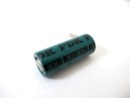 FDK Accumulateur de rechange à cosses à souder Forme en U Ni-Mh 1,2 V Pour Braun Oral-B Professional Care 8000 8300 8500 9500