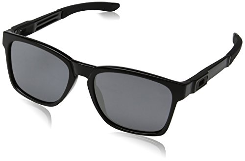 Oakley Sonnenbrille CATALYST, Polished Black/24k iridium, One Size