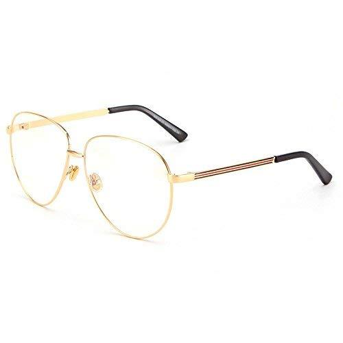 Es gibt Hip-Hop-Star in China zusammen Stil Schmuck Brillengestell männlich Flut Han Ban beleben Alten Bräuchen einen großen Rahmen anastigmatischen Brillen weiblich