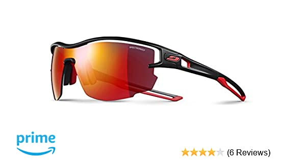 923112c54d56 Julbo Unisex's Amazon Blackred Aero uk co Size One Sunglass rrHqAxpwz