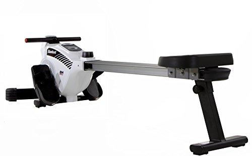 BH Fitness Stanford R301L klappbare Rudermaschine, Ruderzug, Rudergerät