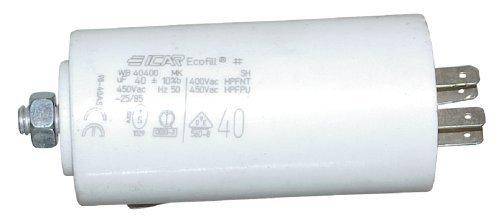 Starterkondensator 8µF, Ø:30mm, Lä: 71mm Anlaufkondensator Betriebskondensator Motorkondensator