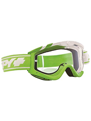 Spy Motocross Goggle MX Targa3, Sunday Green - Clear af w/Post, 320809885094