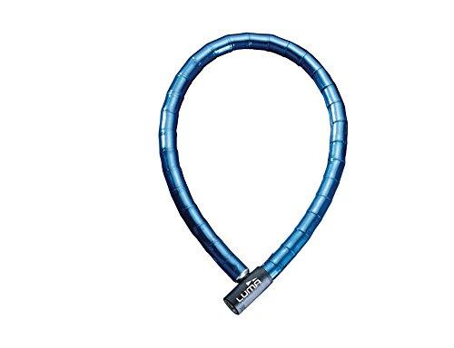 Luma ARB7761LUM Candado articulado, Azul, 25 mm / 150 cm