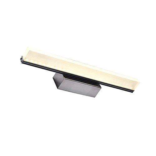 HBA Spiegel Licht moderne und einfache Acryl Lichtquelle für das Badezimmer Spiegel Licht Wasserdichter Anti-LED-Nebel Spiegelschrank A++ (Größe: Großes 9-W-LED, Licht)
