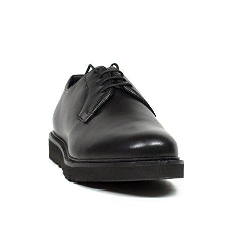 9350476A44600020 Armani Jeans Derby Uomo Pelle Nero Nero