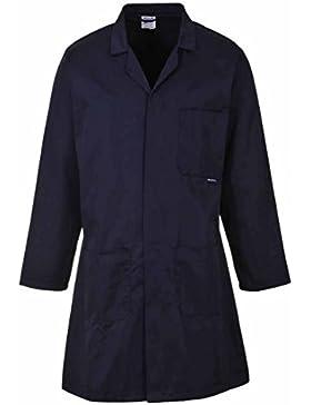Portwest Hygiene & Warehouse Coat Vented Large Navy Ref 2852LGE Nvy