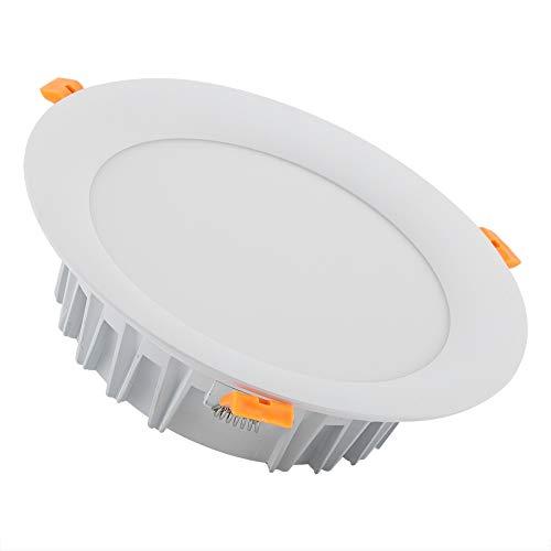 Zyyini Dimmbares LED-Downlight, 18 W RGB + CCT-Handysteuerung Dimmbares LED-Downlight für Deckeneinbau Ideal für Wohnzimmer, Bad, Küche, Büro - Deckeneinbau-downlight