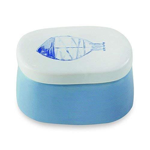 Boîte en céramique avec motif poisson 2