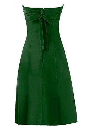 Sunvary Charming Sweetheart-Pantaloncini in raso per abiti, senza Homecoming Bridesmaid Gowns Hunter Green
