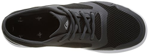 Quiksilver Amphibian Plus, Baskets Basses Homme Noir (BLACK/GREY/WHITE)