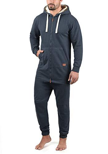 Blend Salinho Herren Overall Jumpsuit Mit Kapuze, Größe:XL, Farbe:Navy (70230)