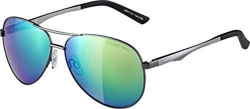Alpina Sonnenbrille Casual A 107 Outdoorsport-brille, Gun Matt, One Size