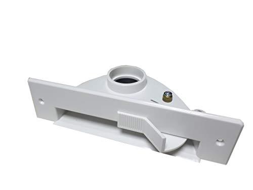 Krümelbehälter für zentrales Absaugen, Weiß