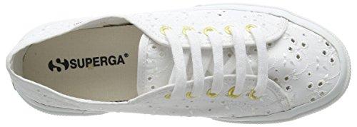 Superga 2750 SANGALLOSATINW, Sneakers basses femme Blanc - Blanc