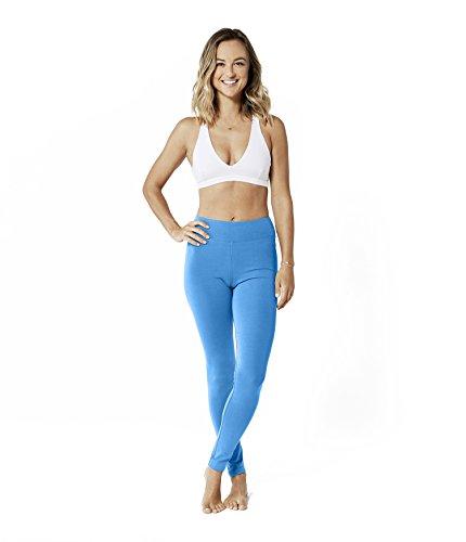 Lotuscrafts Yoga Leggings Damen Lang aus Bio-Baumwolle - Fair & Ökologisch - Yoga Sporthose für Damen - Sport Leggings Frauen -