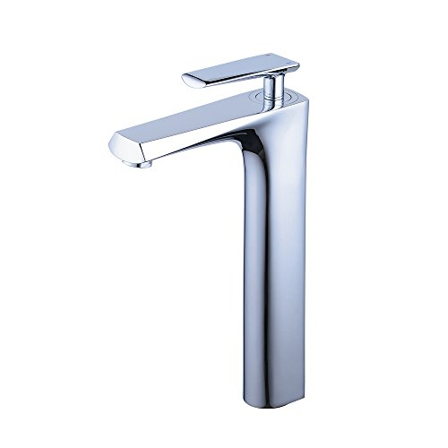 beelee Badezimmer Zubehör, Messing, Design 2,Chrome, tall - Chrome Mixer