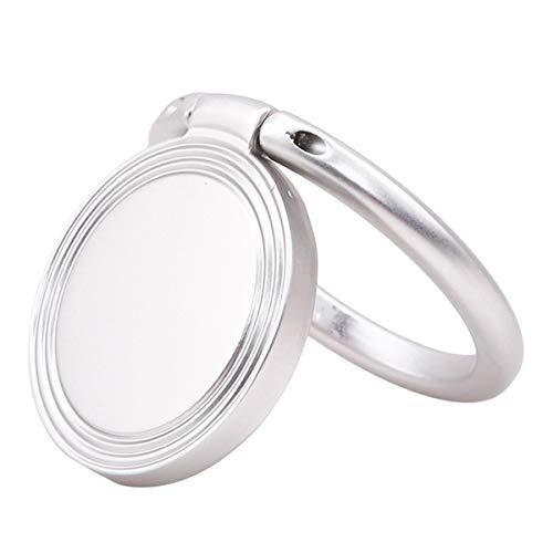 Winwinfly Universalmobile Ständer Metall Finger-Griff Halter für iPhone Ring Samsung Huawei Halterung (Stil 3)