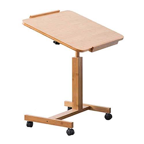 Tische Laptop Tisch Frühstückstablett Multifunktions Stehend Verstellbarer Hubtisch Fauler Tisch Schlafsofa Bambus 2 Größen, 60 * 40 cm