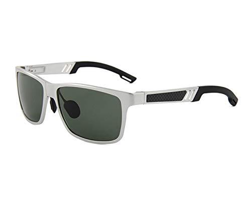 Polarisierte Sonnenbrille mit UV-Schutz Persönlichkeit männer sport sonnenbrille aluminium und magnesium rahmen polarisierte uv-schutz sonnenbrille für fahren reisen baseball laufen radfahren angeln g
