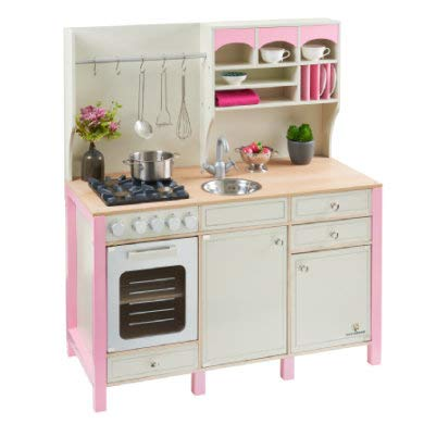 MUSTERKIND® Kinderküche Salvia creme/rosa OneSize